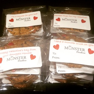 Monster Cookie Valentines